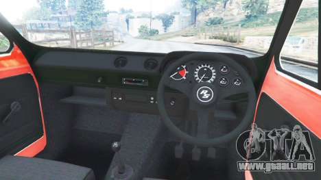 GTA 5 Ford Escort MK1 v1.1 [JE Pistons] vista lateral derecha