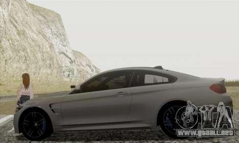 BMW M4 F82 para GTA San Andreas left