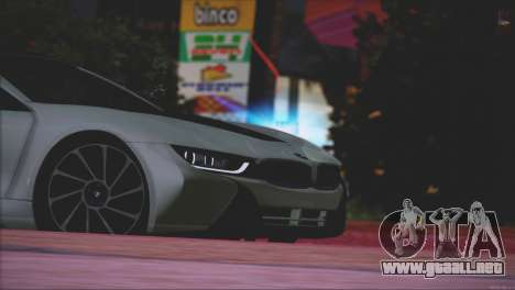 BMW i8 Coupe 2015 para vista inferior GTA San Andreas