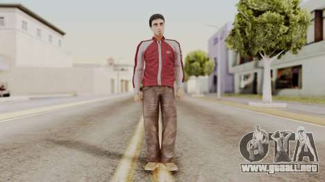 Dwmylc1 CR Style para GTA San Andreas segunda pantalla