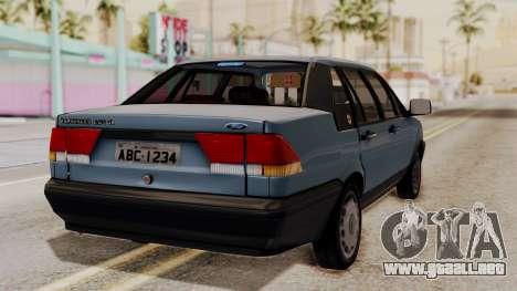 Ford Versailles GL 2.0i 1992-1993 para GTA San Andreas left