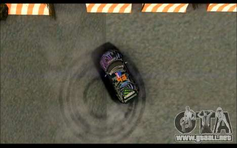 Mini Cooper Gymkhana 6 with Drift Handling para vista lateral GTA San Andreas