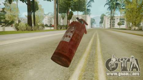 Atmosphere Fire Extinguisher v4.3 para GTA San Andreas segunda pantalla