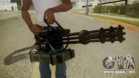 Atmosphere Minigun v4.3 para GTA San Andreas