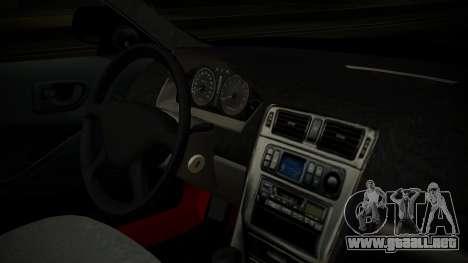 Mitsubishi Galant VR6 Stance para la visión correcta GTA San Andreas