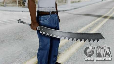 Kaine Sword para GTA San Andreas tercera pantalla