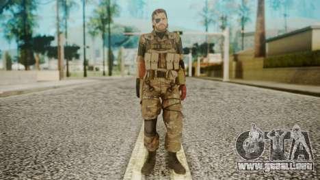Venom Snake Wetwork para GTA San Andreas segunda pantalla