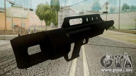 MK3A1 Battlefield 3 para GTA San Andreas tercera pantalla