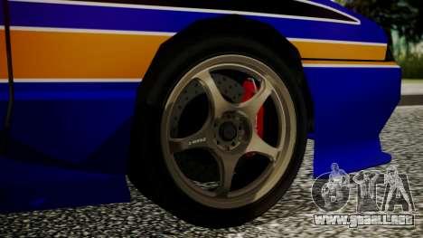 Elegy NR32 without Neon Exclusive PJ para GTA San Andreas vista posterior izquierda