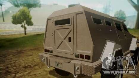 GTA 5 HVY Insurgent para la visión correcta GTA San Andreas