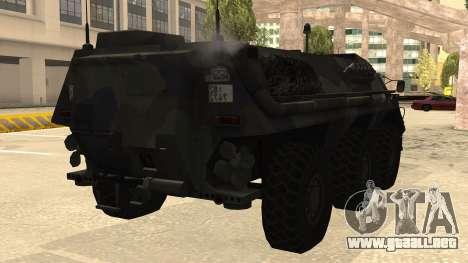 TPz 1 Fuchs Hummel para la visión correcta GTA San Andreas