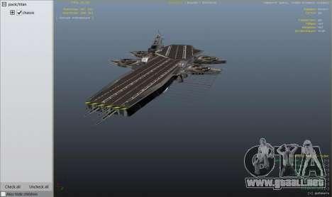 GTA 5 S.H.I.E.L.D. Helicarrier noveno captura de pantalla