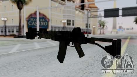 AK-47 from RE6 para GTA San Andreas segunda pantalla