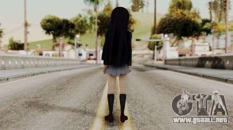 K - ON Remake Mio Akiyama para GTA San Andreas tercera pantalla
