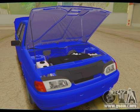 VAZ 2115 de Escorrentía para la visión correcta GTA San Andreas