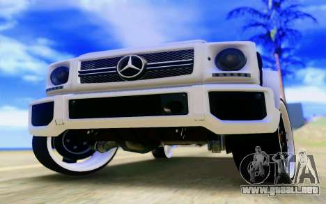 Mercedes-Benz G65 AMG para el motor de GTA San Andreas