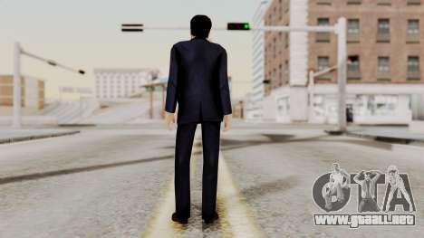 Agent Mulder (X-Files) para GTA San Andreas tercera pantalla