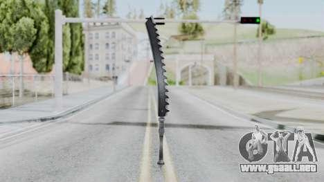 Kaine Sword para GTA San Andreas segunda pantalla