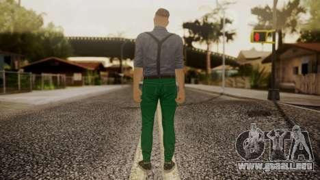 GTA Online Skin Hipster para GTA San Andreas tercera pantalla