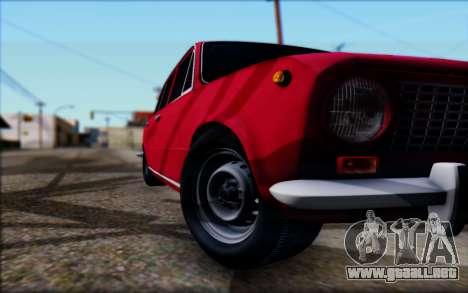 VAZ 2101 V1 para visión interna GTA San Andreas