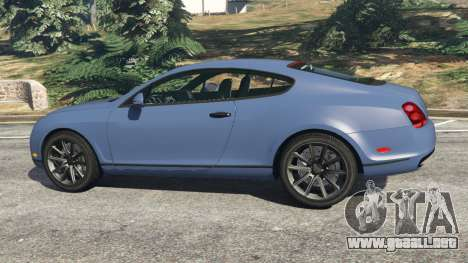 GTA 5 Bentley Continental Supersports [Beta2] vista lateral izquierda