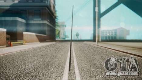 Pool Cue HD para GTA San Andreas segunda pantalla