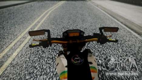 Honda MSX 125C Khmer para la visión correcta GTA San Andreas