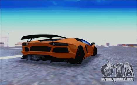 Lamborghini Aventador MV.1 [IVF] para GTA San Andreas vista hacia atrás