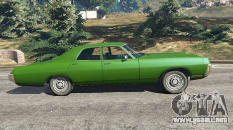 GTA 5 Dodge Polara 1971 v1.0 vista lateral izquierda