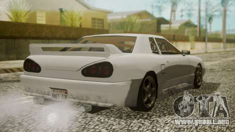 Elegy NR32 without Neon para GTA San Andreas left