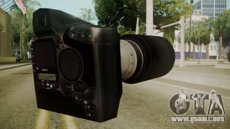 Atmosphere Camera v4.3 para GTA San Andreas segunda pantalla