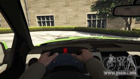 GTA 5 Ford F150 SVT Raptor 2012 v2.0 vista trasera