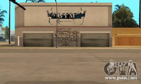 HooverTags para GTA San Andreas sucesivamente de pantalla