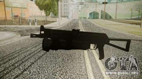 PP-19 Battlefield 3 para GTA San Andreas segunda pantalla