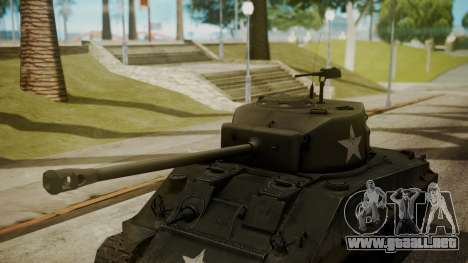 M4A3(76)W HVSS Sherman para la visión correcta GTA San Andreas