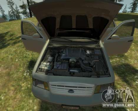 2003 Ford Crown Victoria para GTA 4 vista lateral