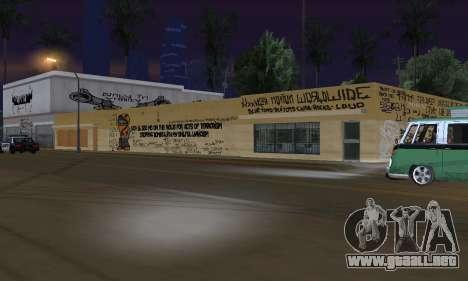 HooverTags para GTA San Andreas quinta pantalla