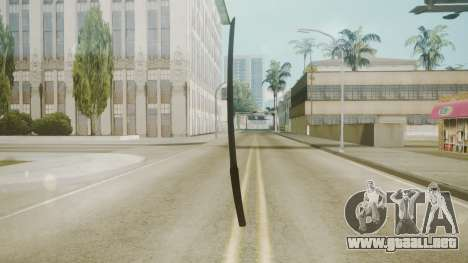 Atmosphere Katana v4.3 para GTA San Andreas segunda pantalla
