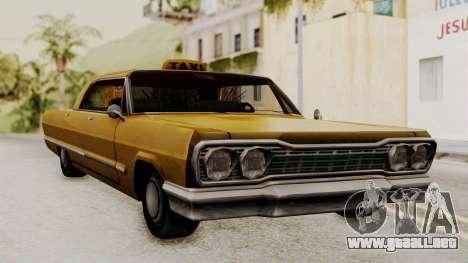 Taxi-Savanna v2 para GTA San Andreas