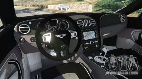 GTA 5 Bentley Continental Supersports [Beta2] vista lateral trasera derecha