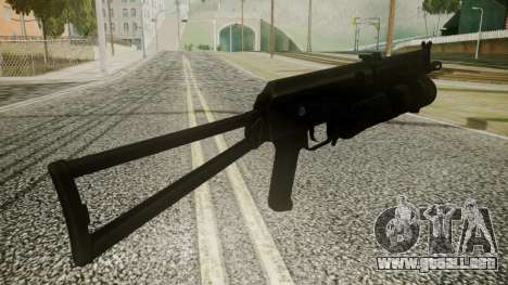 PP-19 Battlefield 3 para GTA San Andreas tercera pantalla