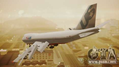 Boeing 747-200 Fly US para GTA San Andreas left