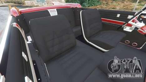 GTA 5 Cadillac Eldorado vista lateral derecha