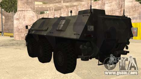 TPz 1 Fuchs Hummel para GTA San Andreas left