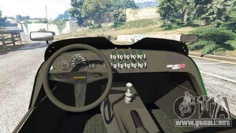 GTA 5 Caterham Super Seven 620R v1.5 [green] vista lateral trasera derecha
