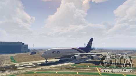 GTA 5 Airbus A380-800 v1.1 séptima captura de pantalla