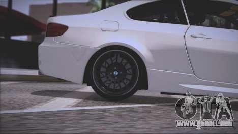 BMW M3 E92 2008 para las ruedas de GTA San Andreas