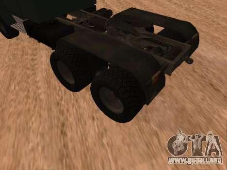 ZIL-133 05A para la visión correcta GTA San Andreas