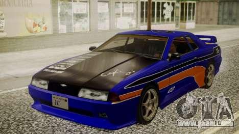 Elegy NR32 with Neon Exclusive PJ para GTA San Andreas vista hacia atrás