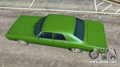 GTA 5 Dodge Polara 1971 v1.0 vista trasera